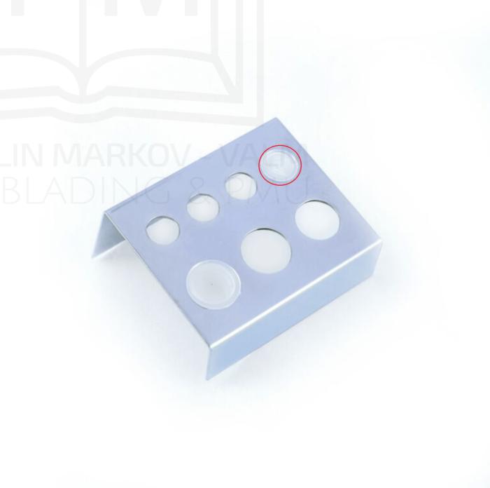 Pigmendi topsid alusele (plastikust 9mm ) 100tk