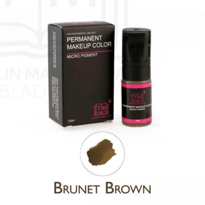 Brünett pruun kulmupigment 2 IN 1 12ml